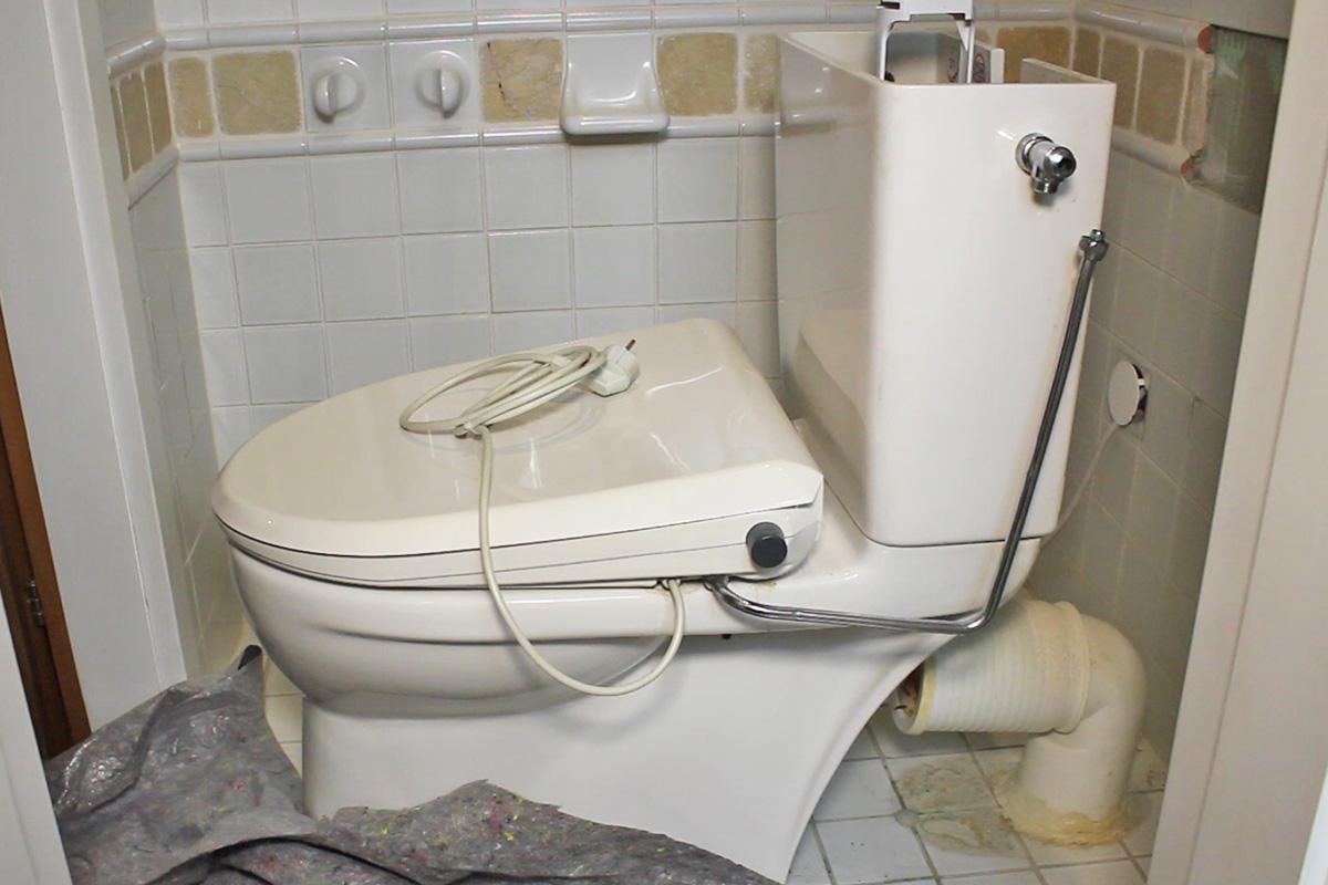 toilette abbauen anleitung