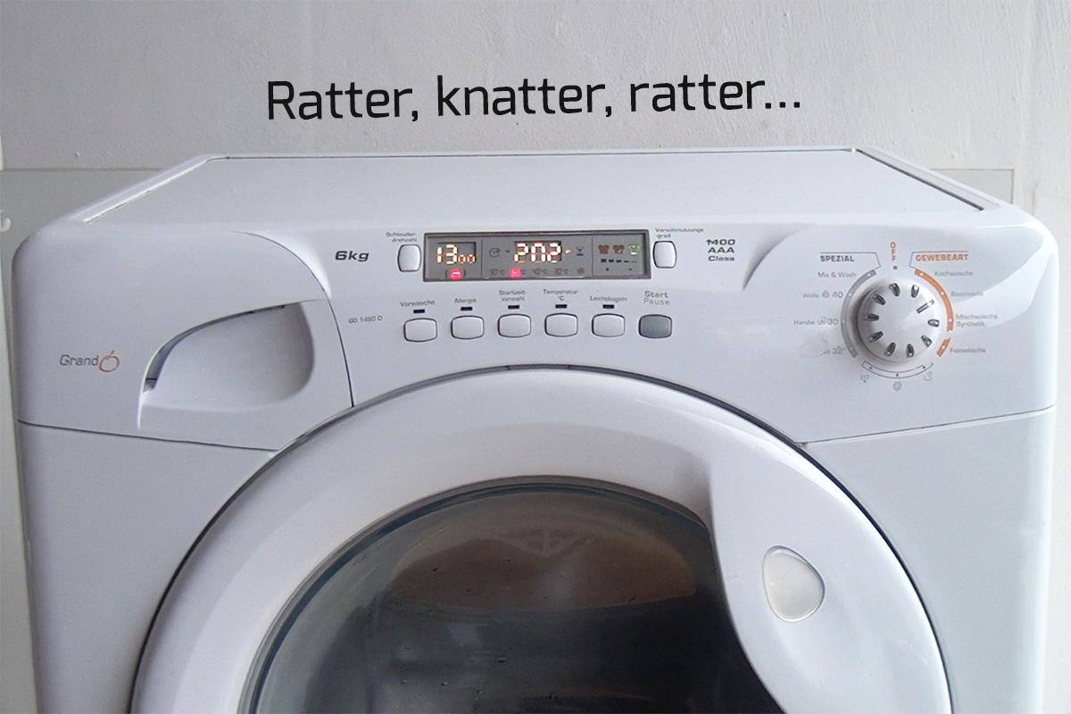 wenn waschmaschine nicht schleudert