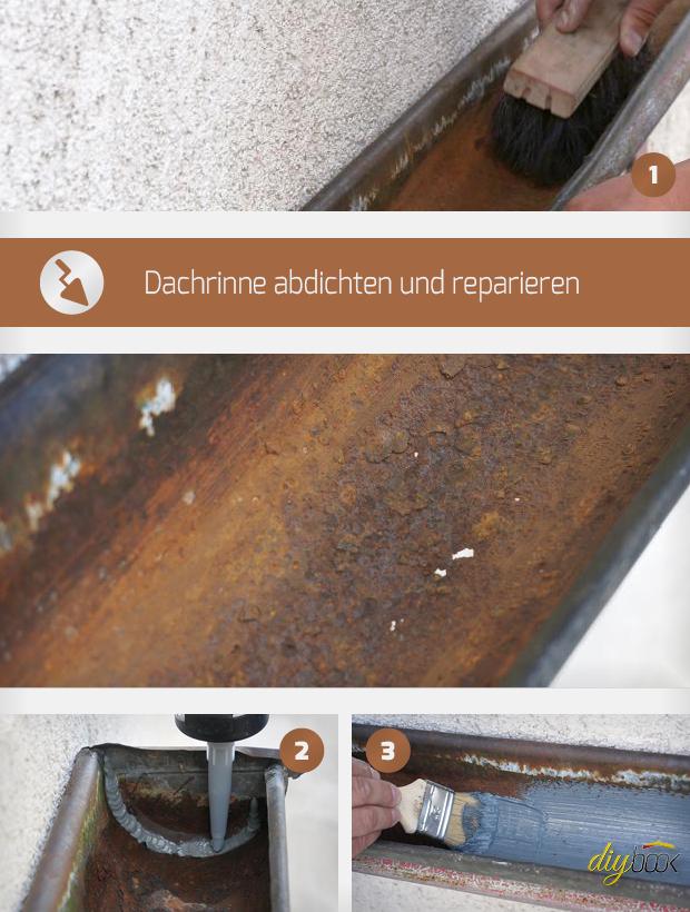 dachrinne abdichten und reparieren anleitung tipps vom spengler bauspengler. Black Bedroom Furniture Sets. Home Design Ideas