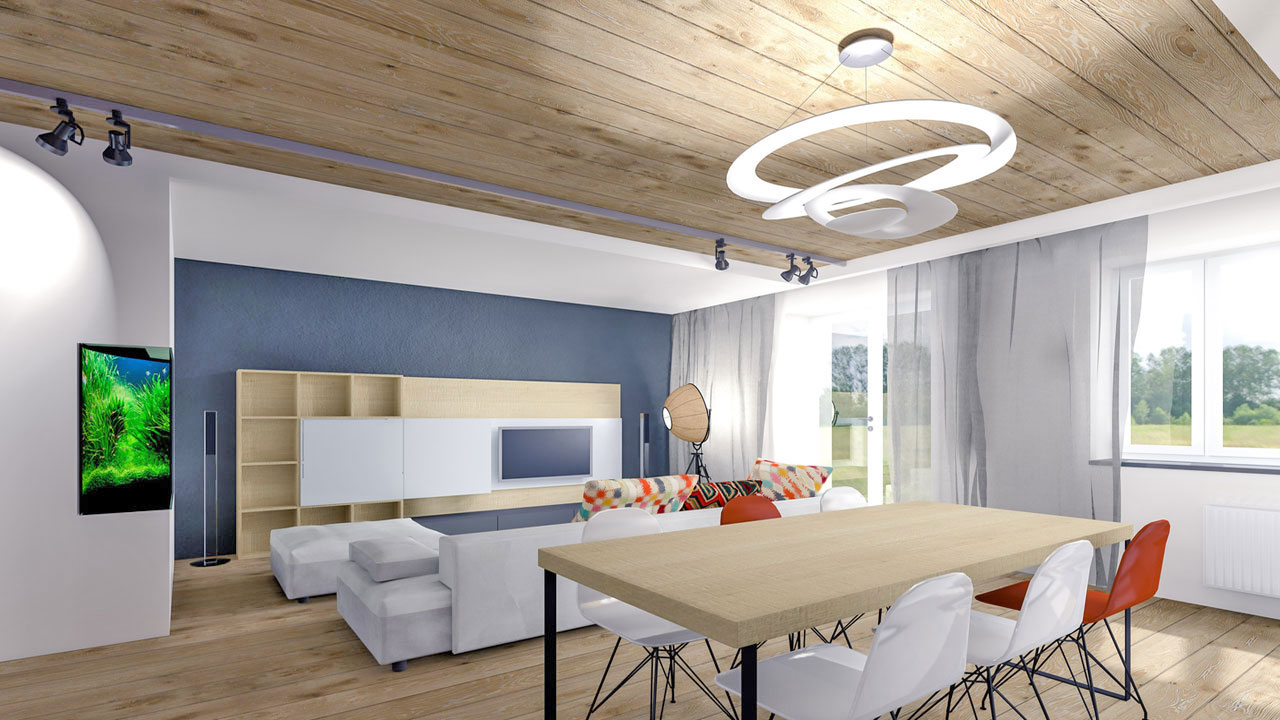modern und technisch ausgereift die r ckkehr der deckenpaneele in bauen wohnen wohnen. Black Bedroom Furniture Sets. Home Design Ideas