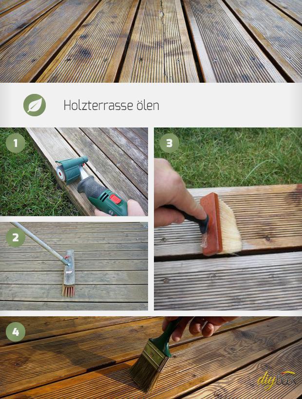 Holzterrasse Ölen - Anleitung & Tipps Vom Tischler | Holzterrasse