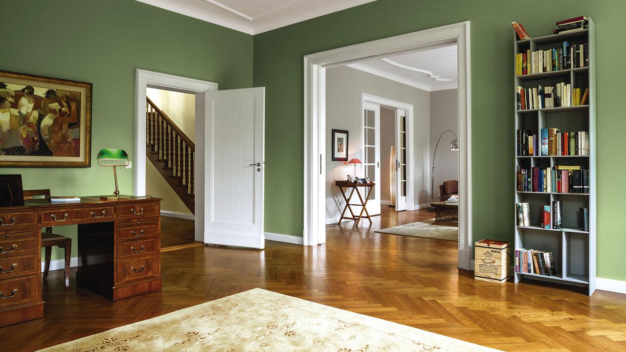 ein hauch von geschichte neue innenfarben von caparol in bauen wohnen wohnen. Black Bedroom Furniture Sets. Home Design Ideas