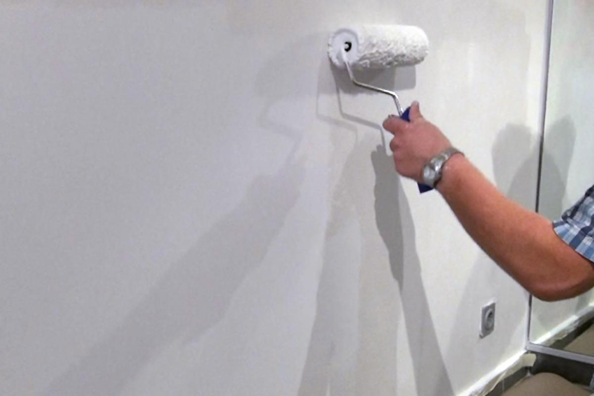 Gut bekannt Wasserflecken an der Wand entfernen (Isolieren) - Anleitung und JM96