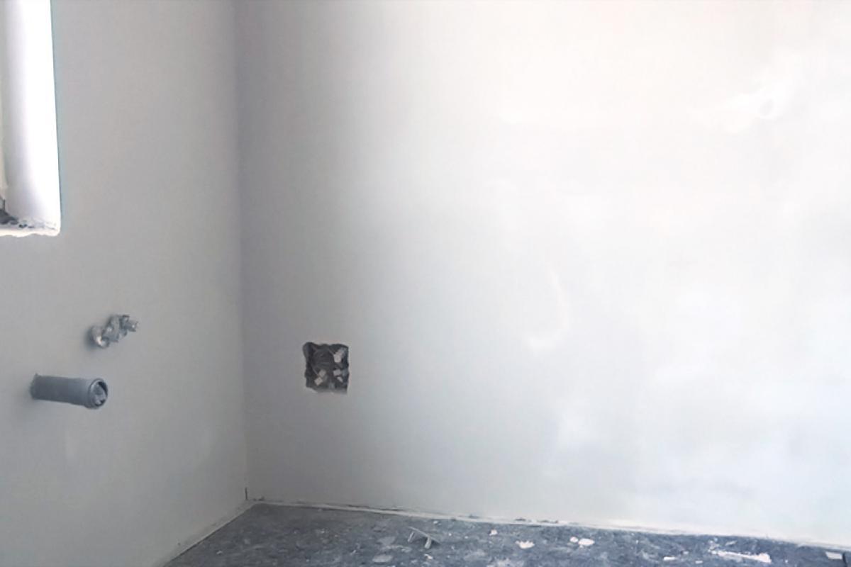 verputzte wände streichen