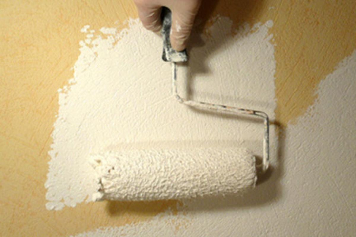 Vliestapete Muster Streichen  Vliestapete mit geometrischem muster grau, beige & türkis kreise ...