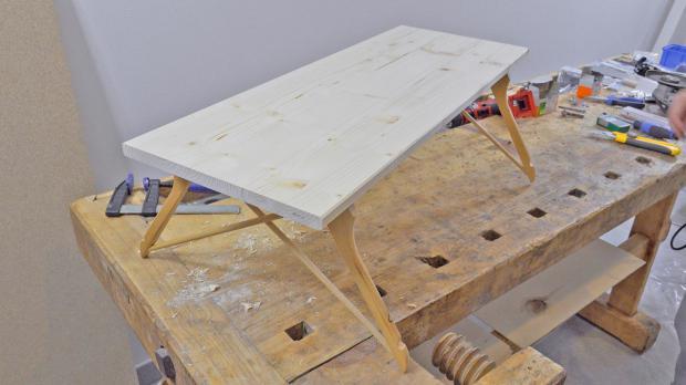 Innovativer DIY-Frühstückstisch