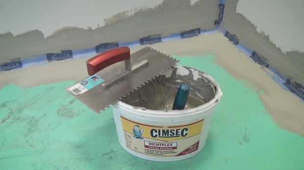 Werkzeug und Material zum Abdichten