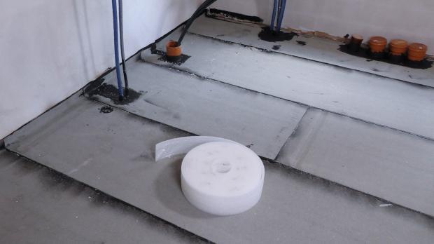 Fermacell Fußbodenplatten Verlegen ~ Dämmung unter estrich richtig verlegen estrichdämmung verlegen