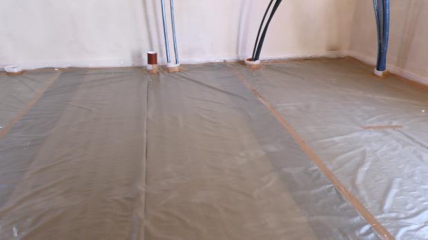 Fußbodenheizung Rohre Verlegen ~ Fußbodenheizung verlegen anleitung diybook