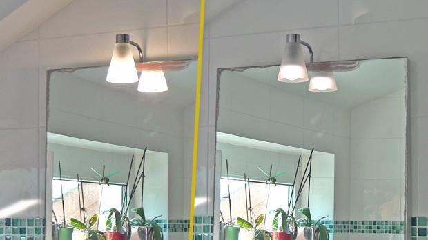 Die LED leuchtet nach dem Ausschalten weiter