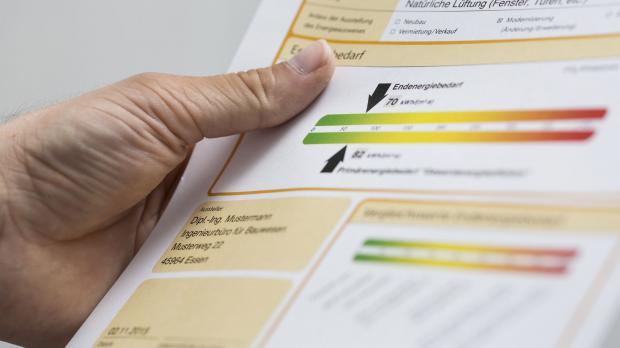 Informationen auf dem Energieausweis