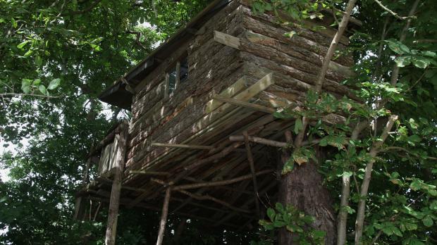 Kindheitstraum Baumhaus