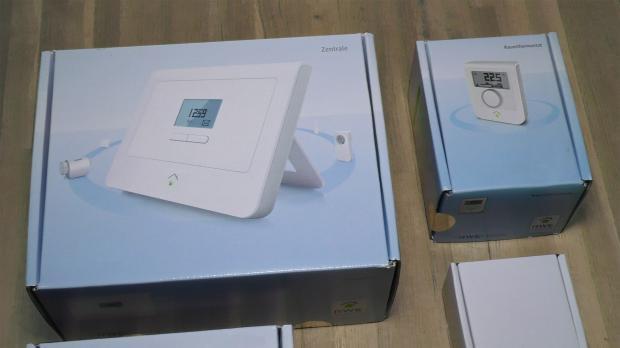 Smarthome-Paket für die Fußbodenheizung
