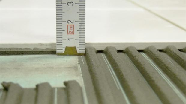 Fußboden Fliesen Stärke ~ Dünnbettverfahren fliesenverlegetechniken im Überblick diybook