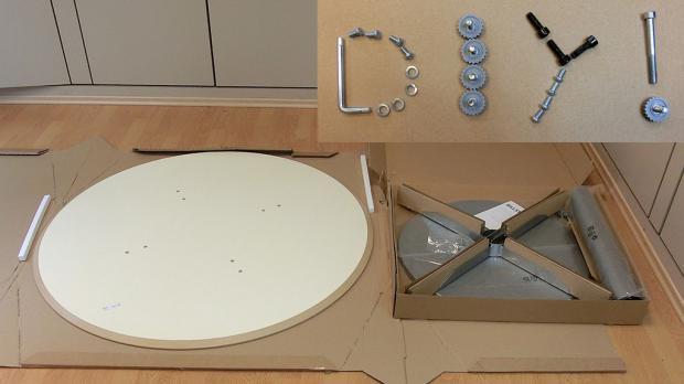 Tischplatte rund ikea  Ikea Billsta Aufbauanleitung - Bauanleitung - Anleitung & Tipps ...