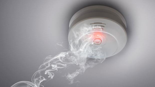 Optisches Frühwarnsystem im Rauchwarnmelder