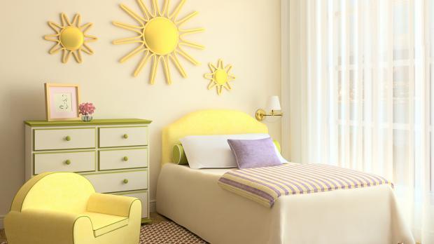 Kinderzimmer In Gelb