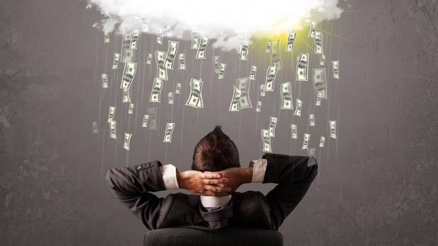 In Erwartung eines warmen Geldregens