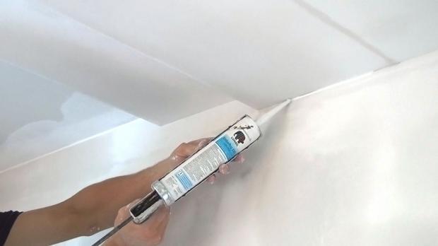 Gut Alle Decken  Und Wandübergänge Werden Mit Acryl Verschlossen