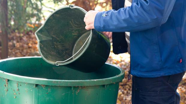Wasserbehälter frostsicher verstauen
