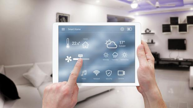 Smart-Home-Test im Musterhaus
