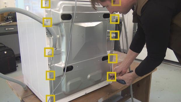 Bauknecht-Waschmaschine: Kohlebürsten wechseln - Anleitung