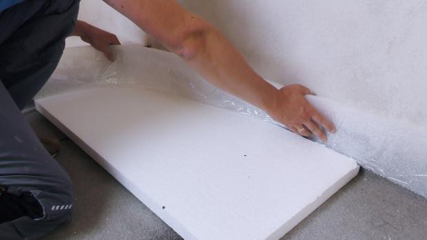 Fußboden Dämmen Anleitung ~ Estrichdämmung verlegen anleitung diybook