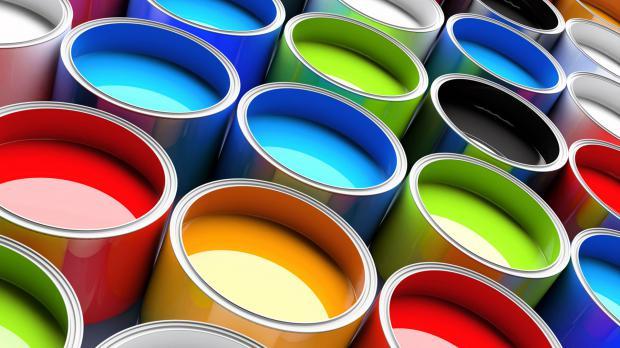 Farbauswahl für das Streichen