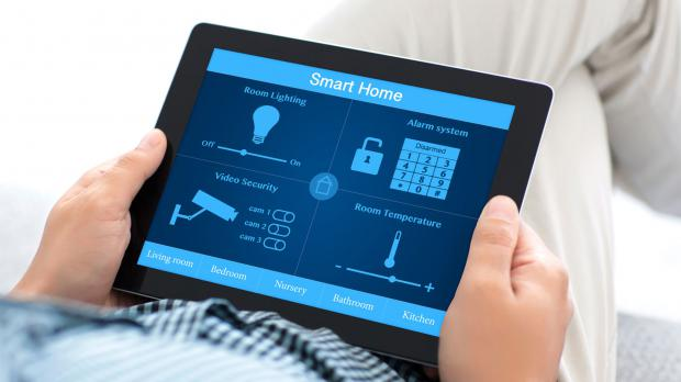 Smart Home steuern über Home Base