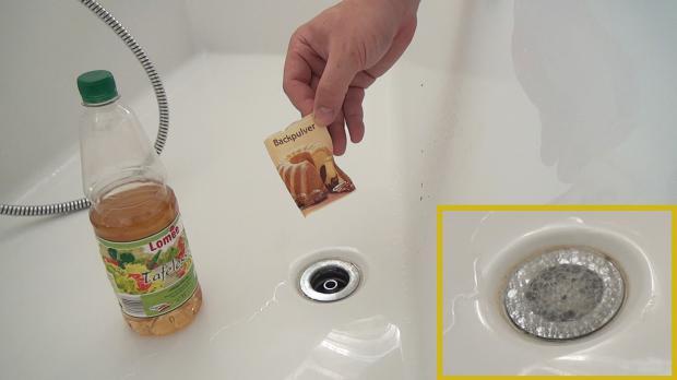 Haare im abfluss badewanne