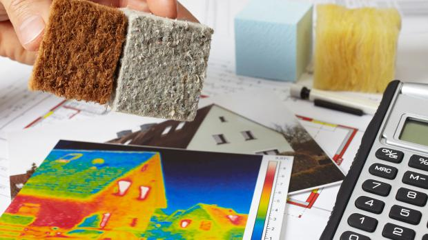 Infrarotheizung, Isoliermaterial und die Kosten