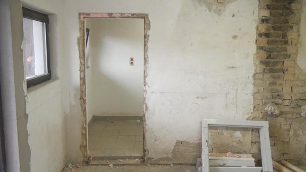 Türöffnung ohne Türzarge