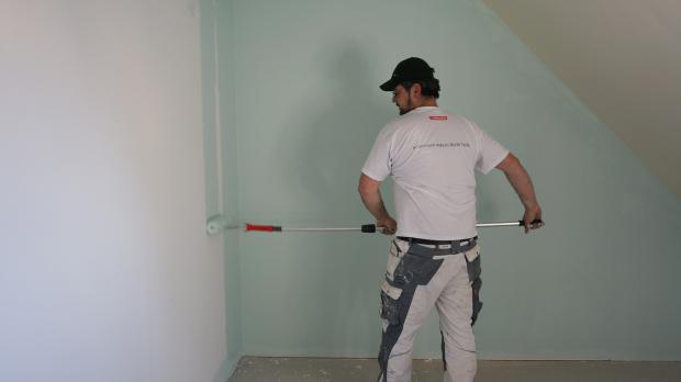 Cool Wandfarbe Satt Auftragen With Wand Farbig Streichen Tipps.
