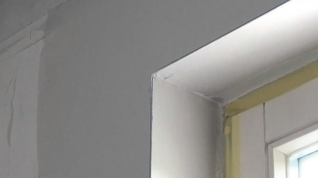 Kantenschutz anbringen kantenschutzprofil spachteln - Wand spachteln und streichen ...