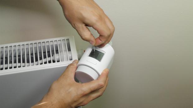Smarthome-Thermostat vorbereiten
