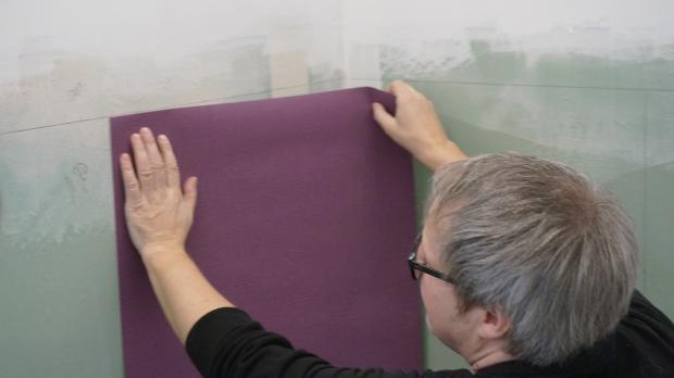 Vliestapeten In Ecken Kleben : kleben kreative wandgestaltung wohnzimmer vliestapete tapezieren