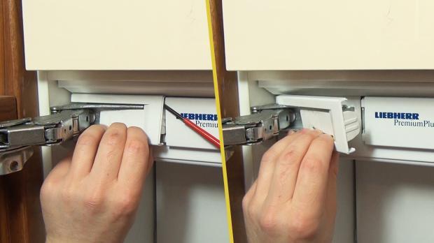 Kühlschrank-Scharnier wechseln