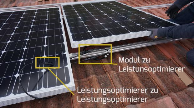Photovoltaik selber montieren und weiterer PV-Module anschließen