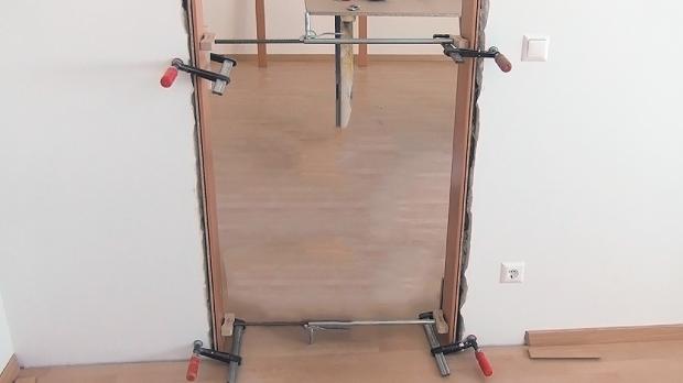 Tür einbauen  Tür einbauen, Türzarge einbauen - Anleitung @ diybook.de