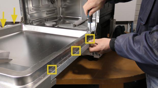 Siemens Kühlschrank Schiene Einsetzen : Siemens spülmaschine tür justieren einbauanleitung beko