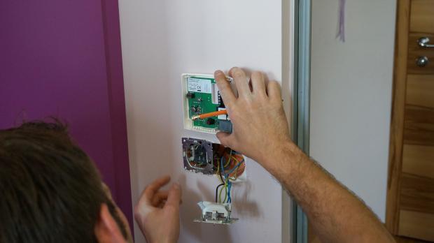 Montage des Thermostats vorbereiten
