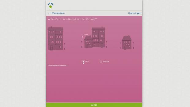 Optionale Fragen zur Wohnsituation