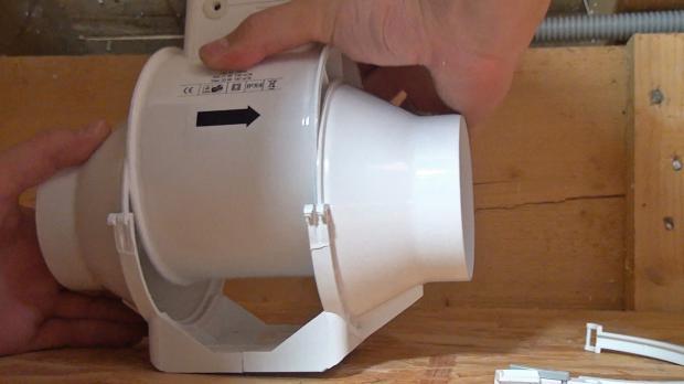 Badezimmer Ventilator Einbauen | Badentluftung Nachtraglich Einbauen Anleitung Diybook De
