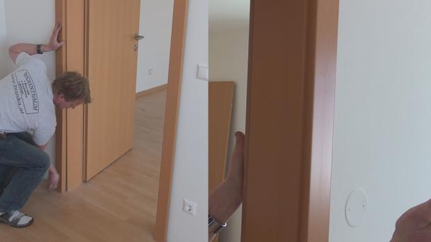 Tür zierblende  Tür einbauen, Türzarge einbauen - Anleitung @ diybook.de