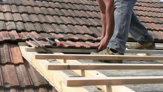 Terrassendach eindecken