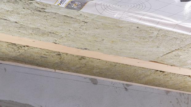 Dämmung des Dachgeschosses