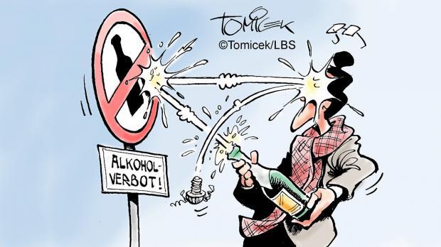 Alkoholverbot im öffentlichen Raum