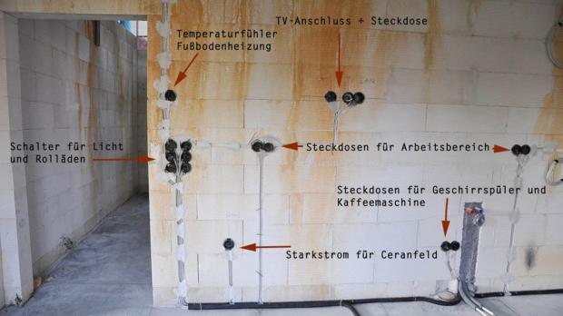 Groß Diagramm Der Elektrischen Verdrahtung In Haus Bilder - Der ...