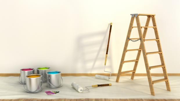 was brauche ich zum streichen das werkzeug im berblick streichen. Black Bedroom Furniture Sets. Home Design Ideas