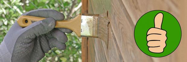 Handwerkertrick: Holz vor dem Streichen anrauen